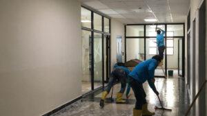 okul inşaat temizleme