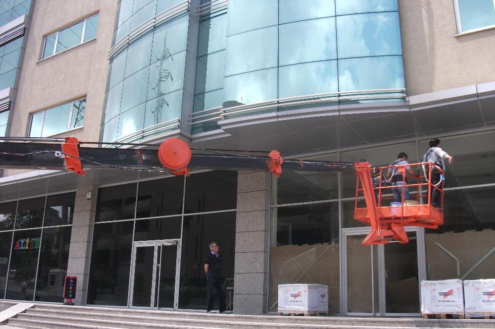 dış cephe cam temizliği