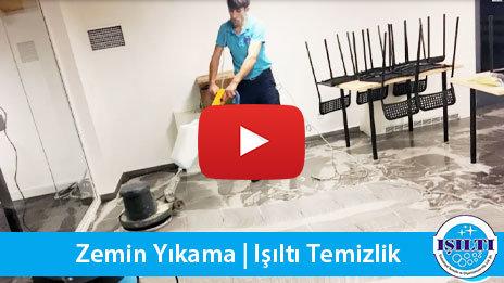Zemin yıkama, yer yıkama | Işıltı Temizlik