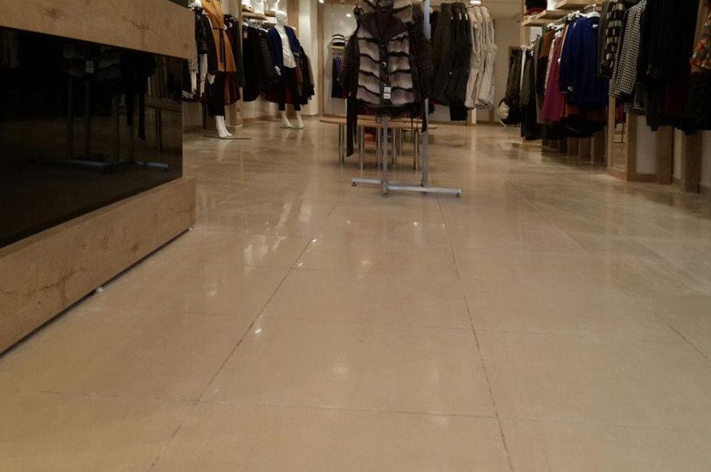 mağaza zemin temizliği
