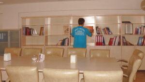 kütüphane temizliği