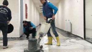 zemin yıkama hizmeti