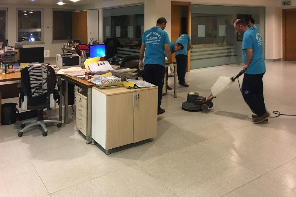 ofis zemin temizliği