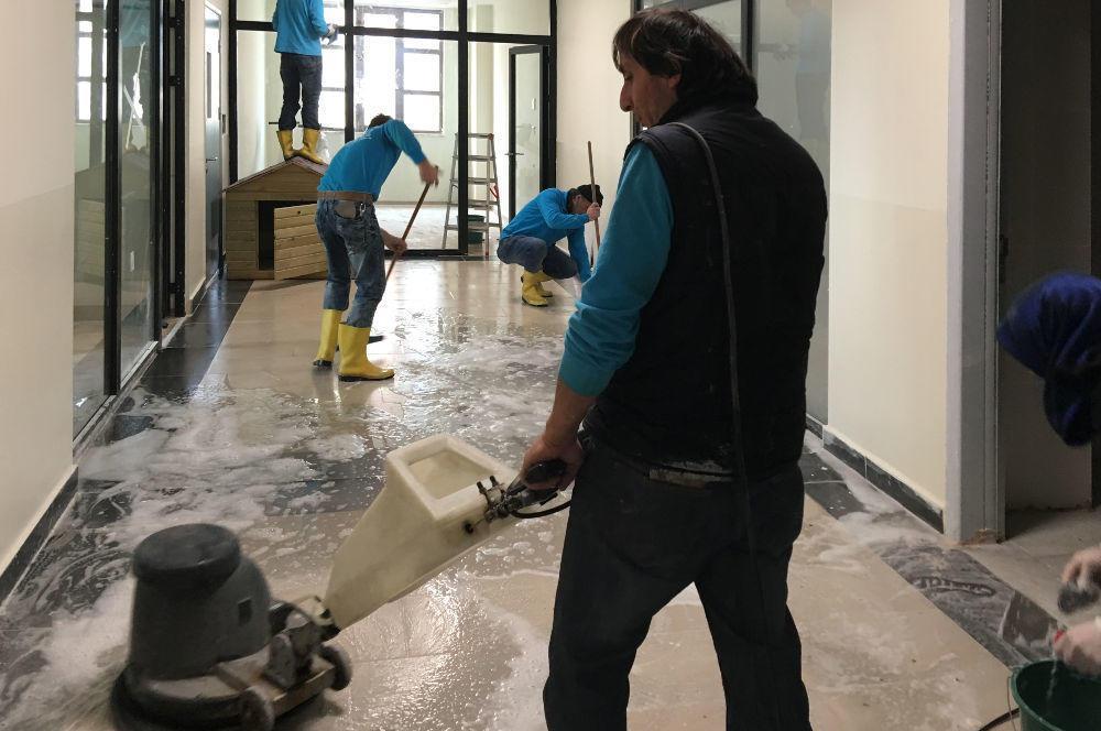 boş okul temizlik hizmeti