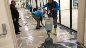 mermer zemin temizlik hizmeti